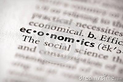Dictionary Series - Economics: economics