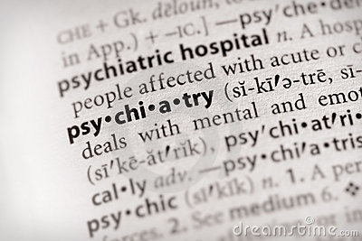 Dictionary Series - Psychology: psychiatry