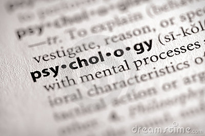 Dictionary Series - Psychology: psychology