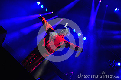 Die Antwoord performs live at Electric Castle Editorial Photography