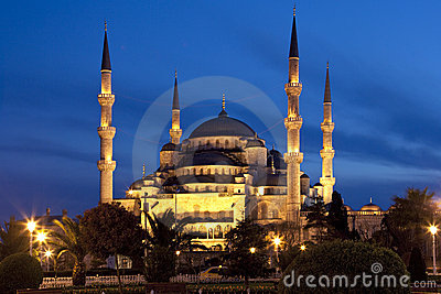 Die Blaue Moschee Istanbul Lizenzfreie Stockfotografie
