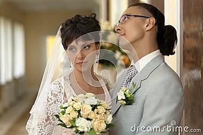 Die Braut und der Bräutigam