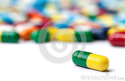 Die einsame Pille
