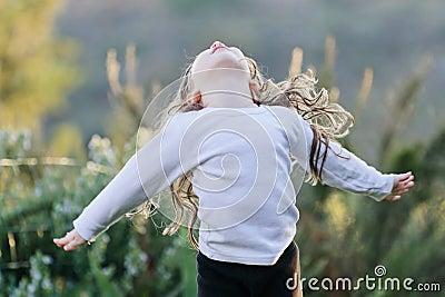 Die Freude an einem Kind