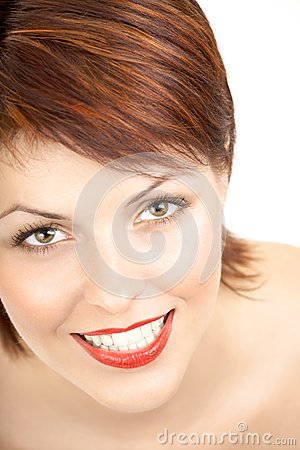 Die lächelnde Schönheit