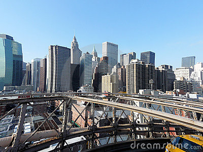 Die Skyline von NY