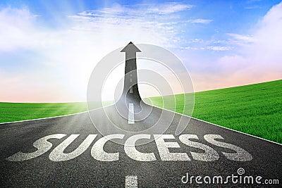 Die Straße zum Erfolg