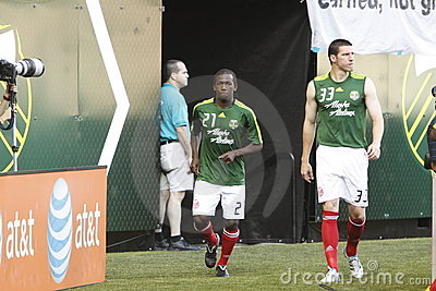 Diego Chara and Kenny Cooper Editorial Image