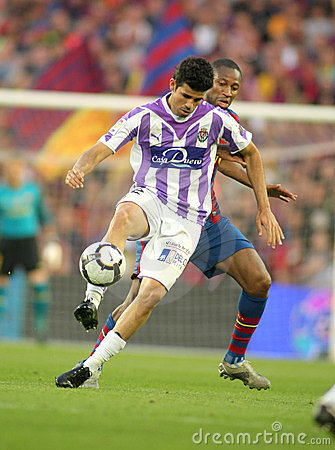 Diego Costa of Valladolid Editorial Stock Image