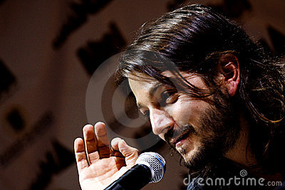 Diego Luna, mexican actor Editorial Photography
