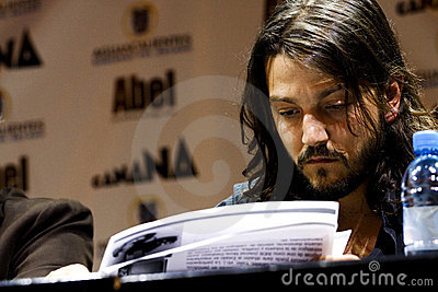 Diego Luna, mexican actor Editorial Stock Image