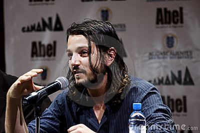 Diego Luna, mexican actor Editorial Stock Photo