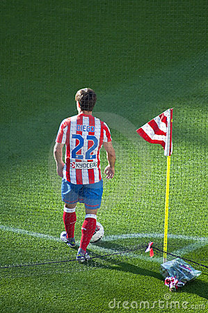 Diego Ribas,Atletico de Madrid player Editorial Photography