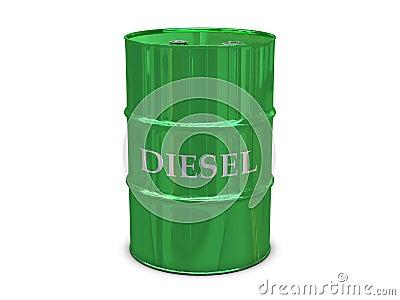 Diesel barrel