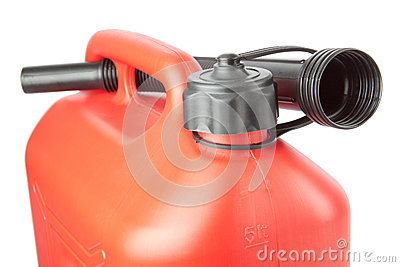 Diesel Canister jerrycan with a watering can.