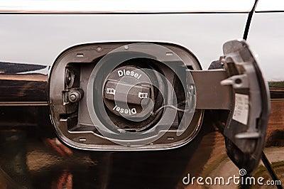 Diesel Car fuel cap