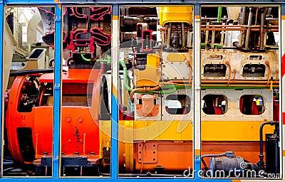 Diesel engine cut-through