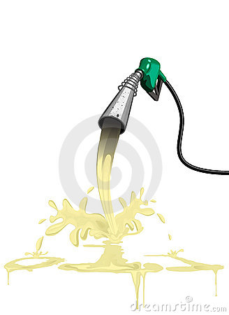Diesel fuel oil gas petrol pump