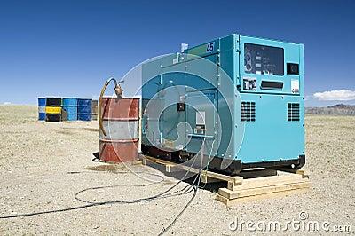 Diesel generator 02