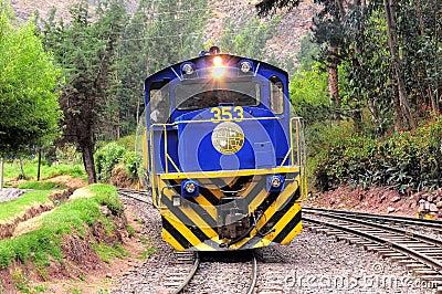 Diesel locomotive. Editorial Image