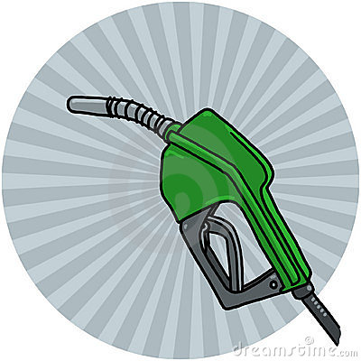 Diesel pump nozzle illustration