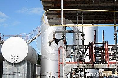 Diesel reserve plant