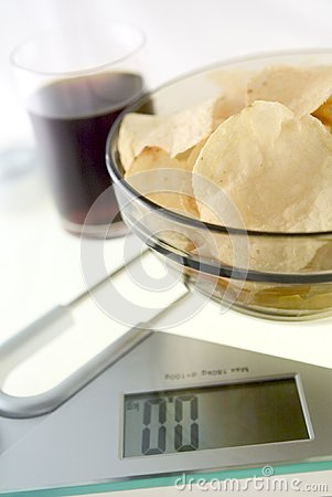 Diet Chips and Coke
