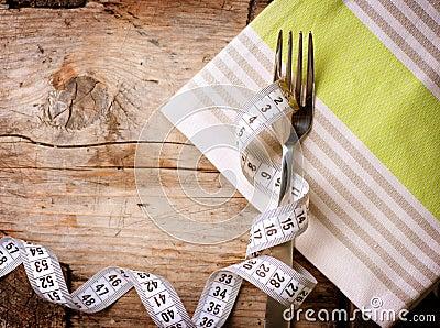 Diet. Dieting Concept