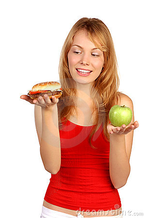 Free Diet Dilemma Royalty Free Stock Photography - 2020037