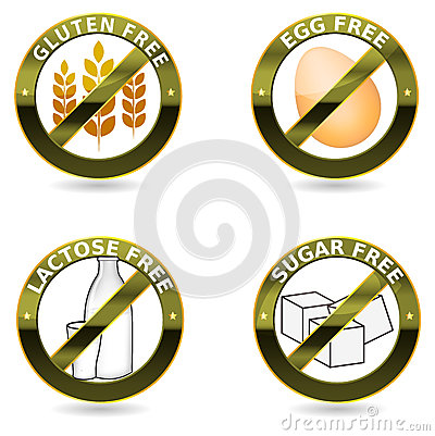 Diet icon collection