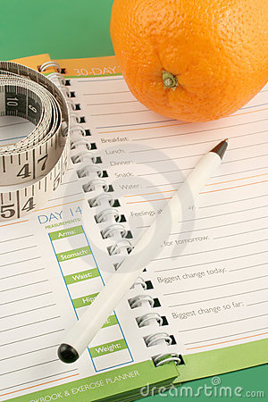 Free Diet Journal Stock Images - 1569514