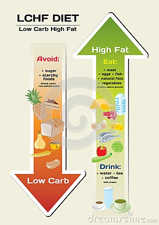 Low carb fat free diet