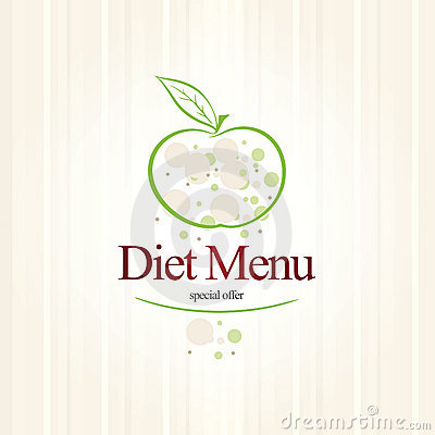 Diet menu restaurant