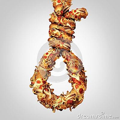 Diet Noose Stock Photo