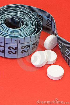 Diet pill tape