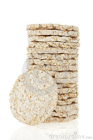 Free Diet Rice Cakes Pile Royalty Free Stock Photos - 14225648