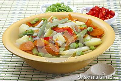 Diet vegetable soup