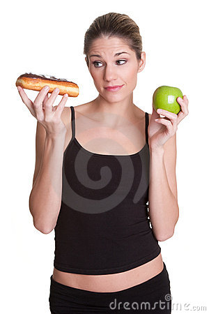 Free Diet Woman Royalty Free Stock Image - 17683276
