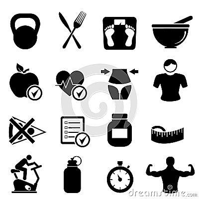Dieta, aptidão e vida saudável