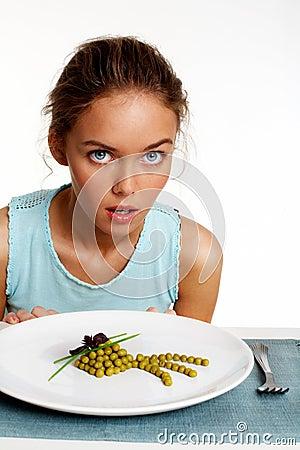 Dieta del guisante