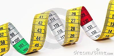 Dieting measuring tape