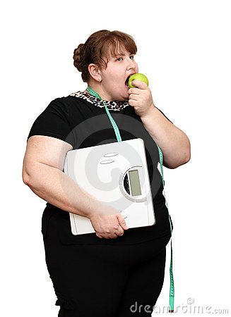Dieting overweight women