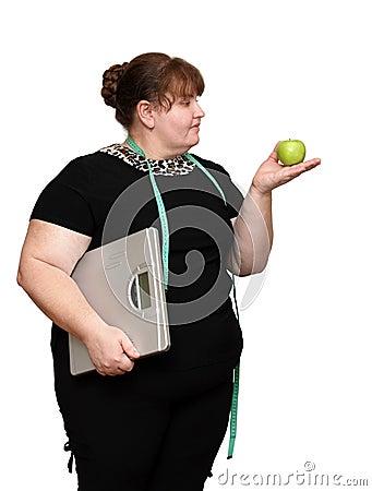 Dieting overweight women