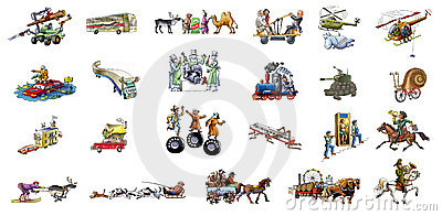 Diferent transport