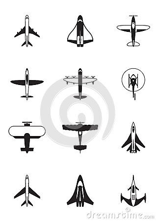 Different aircrafts