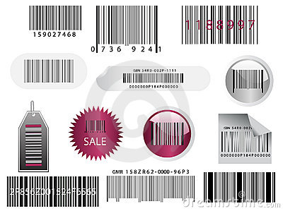 Different bar codes