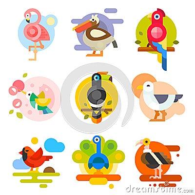 Free Different Birds Stock Photos - 59164733