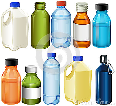 Free Different Bottles Stock Photography - 43659802