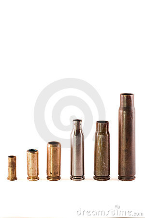 Different bullet shells
