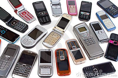 Different cell phones